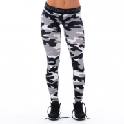 NEBBIA Camo Tights Grey Camo