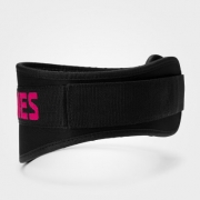 Better Bodies Womens gym belt, Black/pink