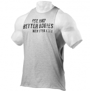 Better Bodies Graphic Logo S/L, grey melange