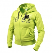 Better Bodies Fitted Soft Hoodie, lime