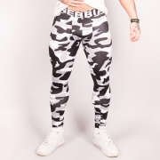 NEBBIA AW Camo Tights Grey Camo