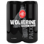 4 x Wolverine Energy Drink 250ml