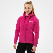 Better Bodies Fitted Soft Hoodie, hot pink