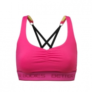 Athlete Short Top, Pink
