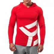Better Bodies Astor LS Hoodie Bright Red