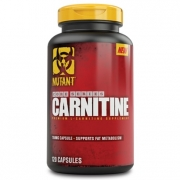 Mutant Nutrition L-carnitine, 120 caps