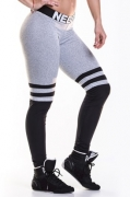 NEBBIA Over The Knee Tights Grey/Black