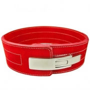 C.P. Sports Powerlifting Lever Belt Red