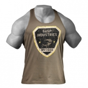 Gasp Gym T-back Wash Green