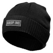 GASP Throwback Beanie, Black