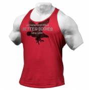 Better Bodies Front Printed T-back Jester Red