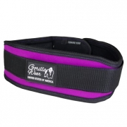 Gorilla Wear Women's Lifting Belt, Black/Purple