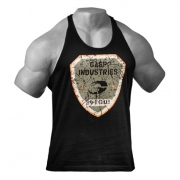 Gasp Gym T-back Black