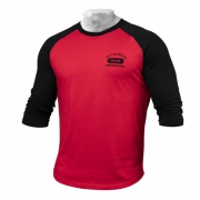 Better Bodies Mens Baseball Tee Bright Red