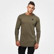 Better Bodies Bronx Long Sleeve Washed Green