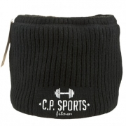 C.P. Sports Neck Warmer Black