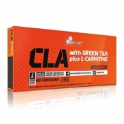 Olimp CLA & Green Tea + L-carnitine, 60 caps