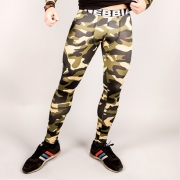 NEBBIA AW Camo Tights Green Camo