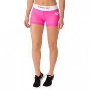 Womens Best Exclusive Shorts Pink/White