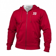Better Bodies Jersey Hoodie Bright Red