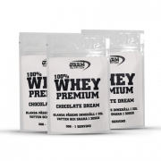 3 x GAAM Nutrition 100% Whey Premium One Serving