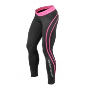 Better Bodies Women's Athlete Tights, black/pink