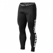 Better Bodies Mens Logo Tights Black