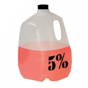 5% Nutrition - 5% Water Jug