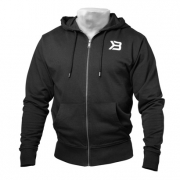 Better Bodies Jersey Hoodie Black