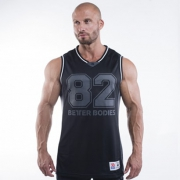 Better Bodies Tip Off-Tank Black/Grey