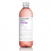 12 x Vitamin Well Focus Svarta Vinbär, 500ml