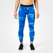 Better Bodies Fitness Curve Tights Blue Camo