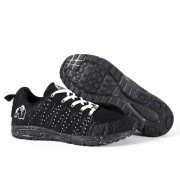 Gorilla Wear Brooklyn Knitted Sneakers, black/white