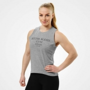 Better Bodies Chelsea loose tank, Grey Melange