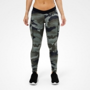 Better Bodies Camo long tights, camo print