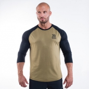 Better Bodies Mens Baseball Tee Military Green