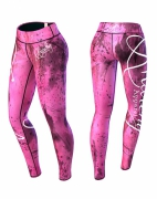 Anarchy Apparel Pink Mechanic Legging Pink/Black