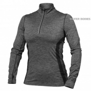 Better Bodies Performance Mid L/S Graphite Melange