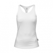Better Bodies Womens White T-Back