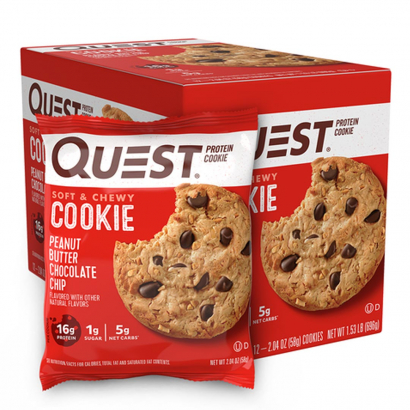 12 x Quest Nutrition Protein Cookie