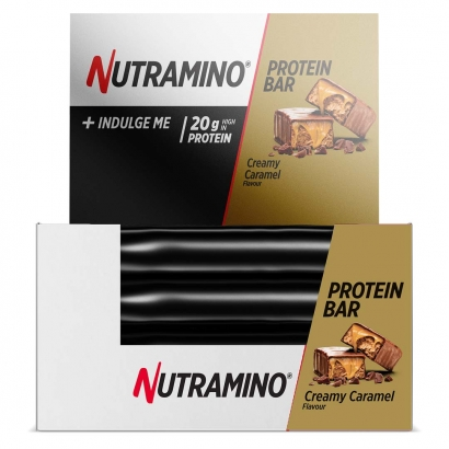 12 x Nutramino Proteinbar, 64 g, Caramel