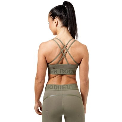 Better Bodies Astoria Sports Bra Wash Green