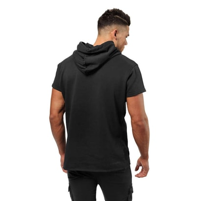 Better Bodies Bronx T-shirt Hoodie Wash Black