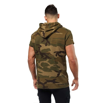 Better Bodies Bronx T-shirt Hoodie Military Camo