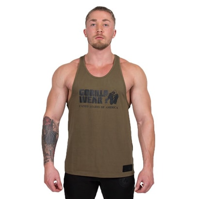 Gorilla Wear Classic Tank Top Army Green