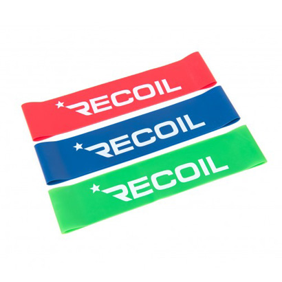 Recoil - Aerobic Bands (Paket om 3, 460mm x 50mm)