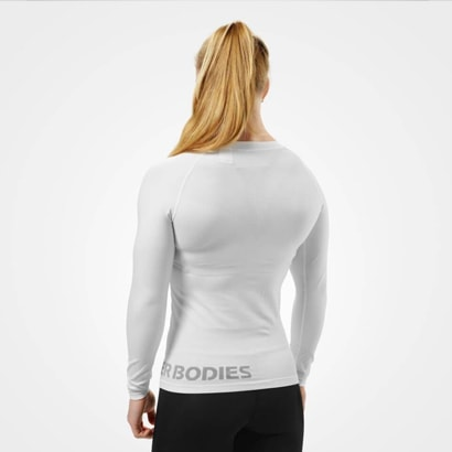 Better Bodies Nolita Seamless LS, White