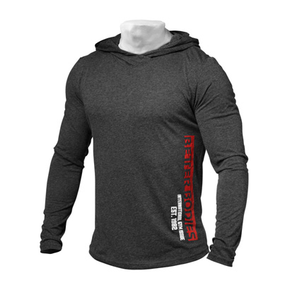 Better Bodies Mens Soft Hoodie Antracite