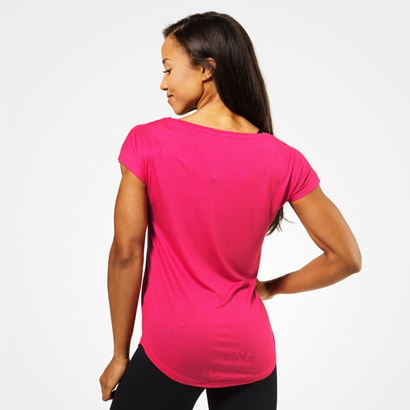 Better Bodies Gracie Tee Hot Pink