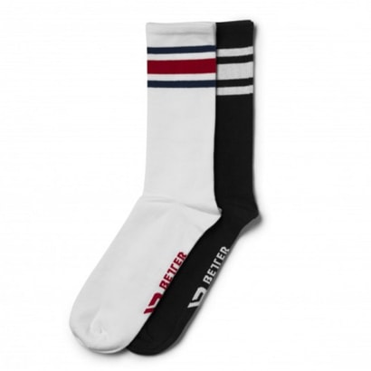 Better Bodies Brooklyn Socks Black/Red
